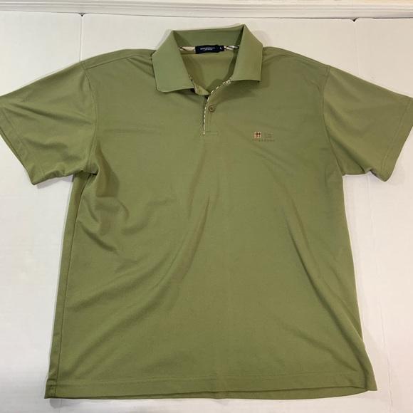 6291e1b0 Burberry Shirts | Mens Nova Check Logo Polo Tee Shirt L | Poshmark